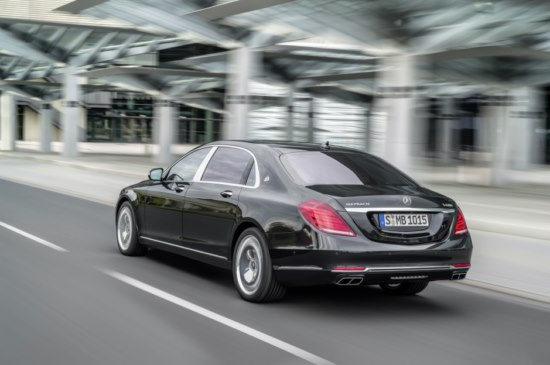 Mercedes-Maybach S 2014 2015