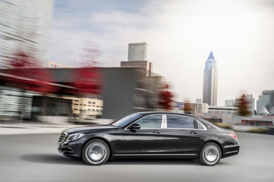 Mercedes Maybach S400 4MATIC 2015