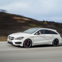 Новый Mercedes-Benz CLA 45 AMG Shooting Brake
