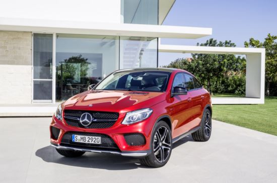 купе Mercedes-Benz GLE