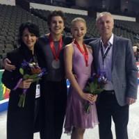 Степанова и Букин заняли третье место в Чикаго турнир Skate America