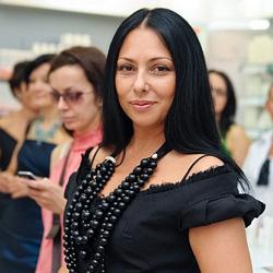 Юлия Далакян Неделя моды в Милане 2013